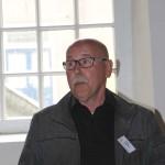 Johan Goedhart verwelkomt de gasten