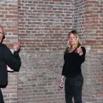 Klankkunst door Johan en Yvonne Goedhart. De vloer van de Dikke Toren fungeert hierbij als klankkast